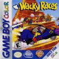 Wacky Races Game Boy Color Front Cover