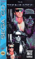 The Terminator SEGA CD Front Cover