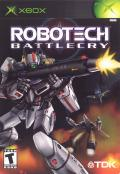 Robotech: Battlecry Xbox Front Cover