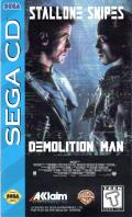 Demolition Man SEGA CD Front Cover