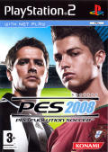 PES 2008: Pro Evolution Soccer PlayStation 2 Front Cover