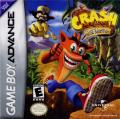 Crash Bandicoot: The Huge Adventure Game Boy Advance Front Cover