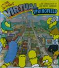 The Simpsons: Virtual Springfield Macintosh Front Cover
