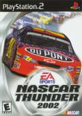 NASCAR Thunder 2002 PlayStation 2 Front Cover