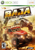 Baja: Edge of Control Xbox 360 Front Cover