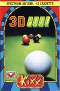 Sharkey's 3D Pool ZX Spectrum Front Cover