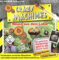 Crazy Machines: New From the Lab Windows Manual Jewel Case / Manual - Front