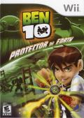 Ben 10: Protector of Earth Wii Front Cover