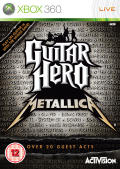 Guitar Hero: Metallica Xbox 360 Front Cover