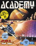 Space School Simulator: The Academy Atari ST Front Cover