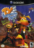 Ty the Tasmanian Tiger 3: Night of the Quinkan GameCube Front Cover