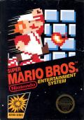 Super Mario Bros. NES Front Cover