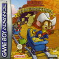 An American Tail: Fievel's Gold Rush Game Boy Advance Front Cover