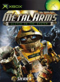 Metal Arms: Glitch in the System Xbox 360 Front Cover