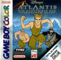 Disney's Atlantis: The Lost Empire Game Boy Color Front Cover