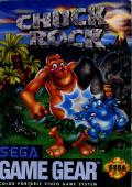 Chuck Rock Game Gear Front Cover