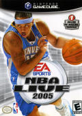 NBA Live 2005 GameCube Front Cover