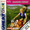 Barbie: Pet Rescue Game Boy Color Front Cover