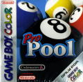 Pro Pool Game Boy Color Front Cover