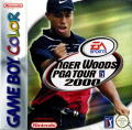 Tiger Woods PGA Tour 2000 Game Boy Color Front Cover