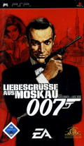 007: From Russia with Love PSP Front Cover