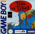 Tintin in Tibet Game Boy Front Cover