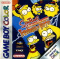 The Simpsons: Night of the Living Treehouse of Horror Game Boy Color Front Cover