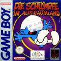 The Smurfs' Nightmare Game Boy Front Cover