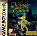 Quest for Camelot Game Boy Color Front Cover