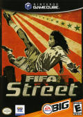 FIFA Street GameCube Front Cover