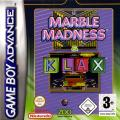 Marble Madness / Klax Game Boy Advance Front Cover