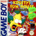 Krusty's Fun House Game Boy Front Cover