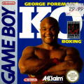 George Foreman's KO Boxing Game Boy Front Cover