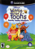 Disney's Winnie the Pooh's Rumbly Tumbly Adventure GameCube Front Cover