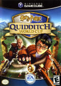 Harry Potter: Quidditch World Cup GameCube Front Cover