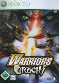 Warriors Orochi Xbox 360 Front Cover