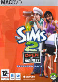 The Sims 2: Open for Business Macintosh Front Cover