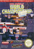 Nigel Mansell's World Championship Racing NES Front Cover