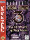 Ultimate Mortal Kombat 3 Genesis Front Cover