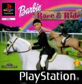 Barbie: Race & Ride PlayStation Front Cover
