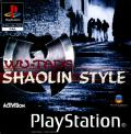 Wu-Tang: Shaolin Style PlayStation Front Cover