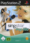 SingStar: Pop Hits PlayStation 2 Front Cover