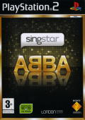 SingStar ABBA PlayStation 2 Front Cover