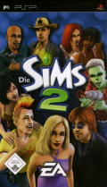 The Sims 2 PSP Front Cover