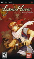 The Legend of Heroes: A Tear of Vermillion PSP Front Cover