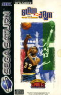 Slam 'N Jam '96 featuring Magic & Kareem SEGA Saturn Front Cover