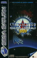 Starfighter 3000 SEGA Saturn Front Cover