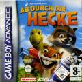 Over the Hedge Game Boy Advance Front Cover