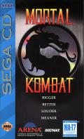 Mortal Kombat SEGA CD Front Cover