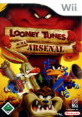 Looney Tunes: Acme Arsenal Wii Front Cover